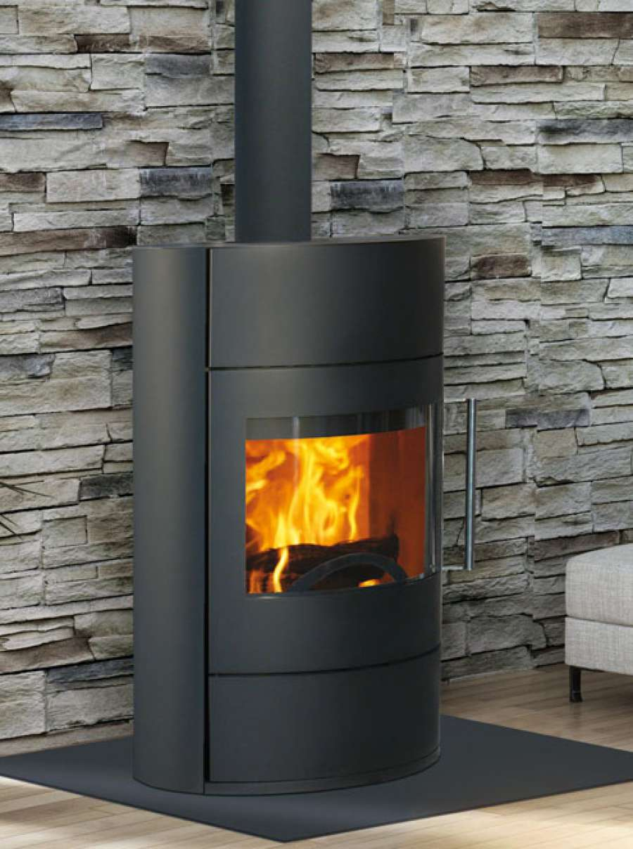 Fonte flamme fifty 8 kw for Entretien fonte poele a bois
