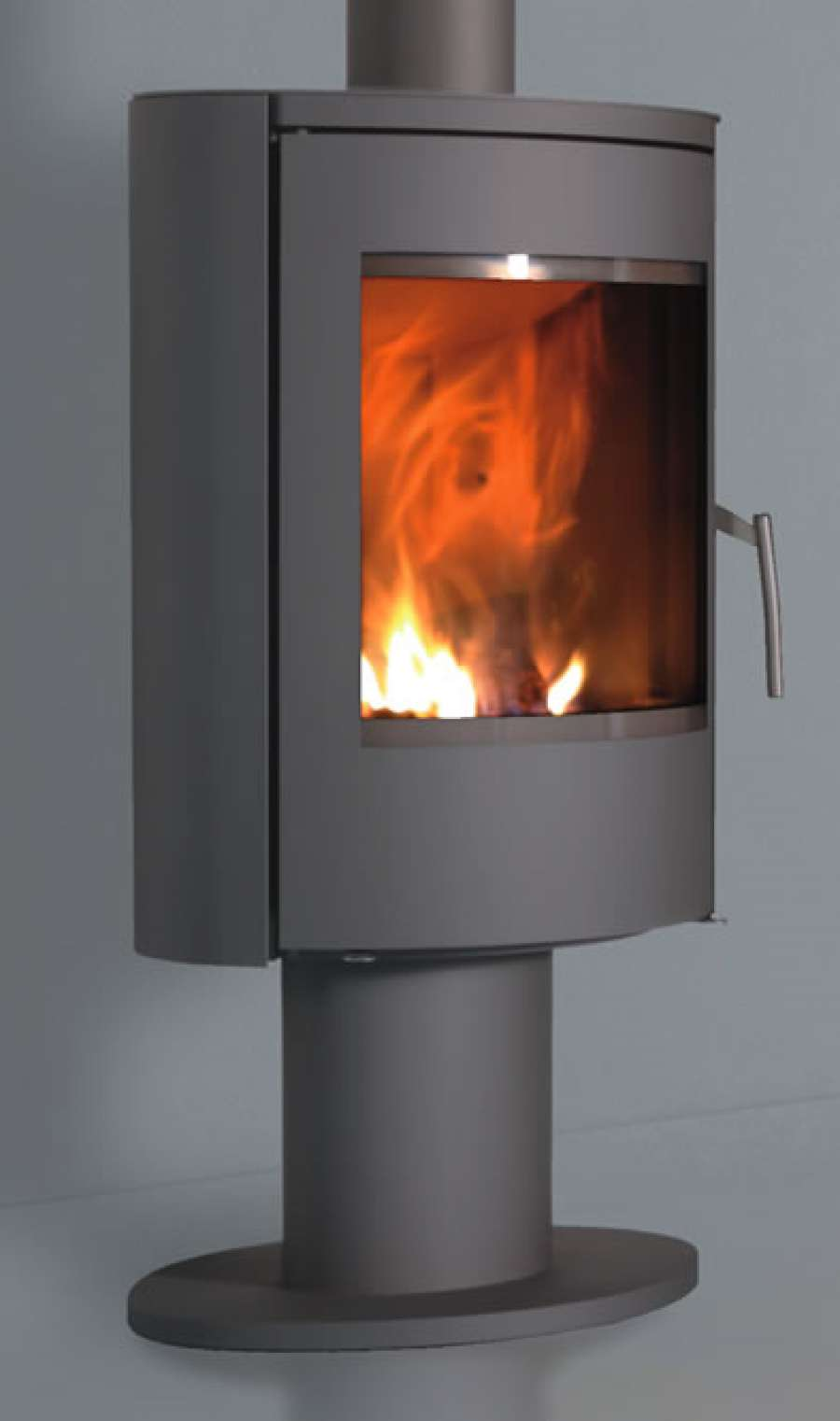 Fonte flamme nara 7 kw for Poele a bois encastrable prix